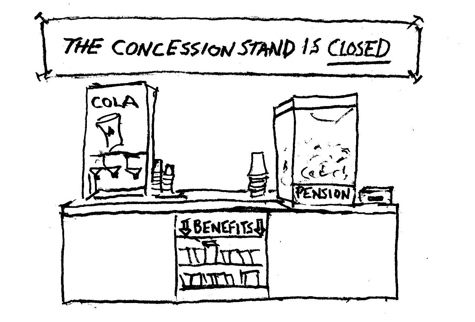 The Concession Stand is Closed